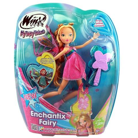 Winx Enchantix Fairy Cotiplas Flora - Ref 1965  - FAMATECNOSHOP