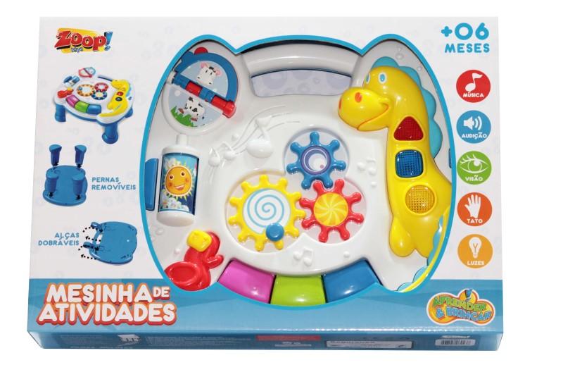 Mesinha de Atividades Musical Zoop Toys - ZP00043  - FAMATECNOSHOP