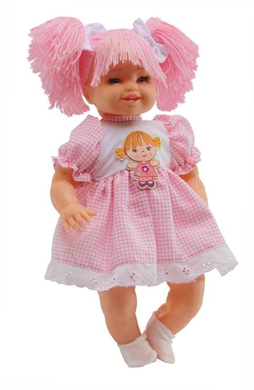 Boneca Maricota Rosa Fala 30 Frases Anjo - Ref 961  - FAMATECNOSHOP