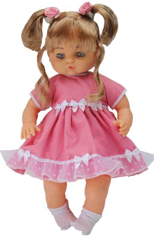 Boneca Anjos Baby Loira Fala Mais de 50 Frases Anjo - Ref 769  - FAMATECNOSHOP