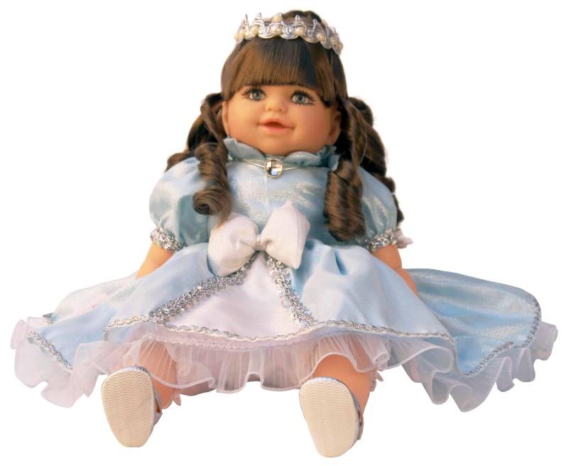 Boneca ADDARA Blue Princess Fala 51 Frases Anjo - Ref 949  - FAMATECNOSHOP