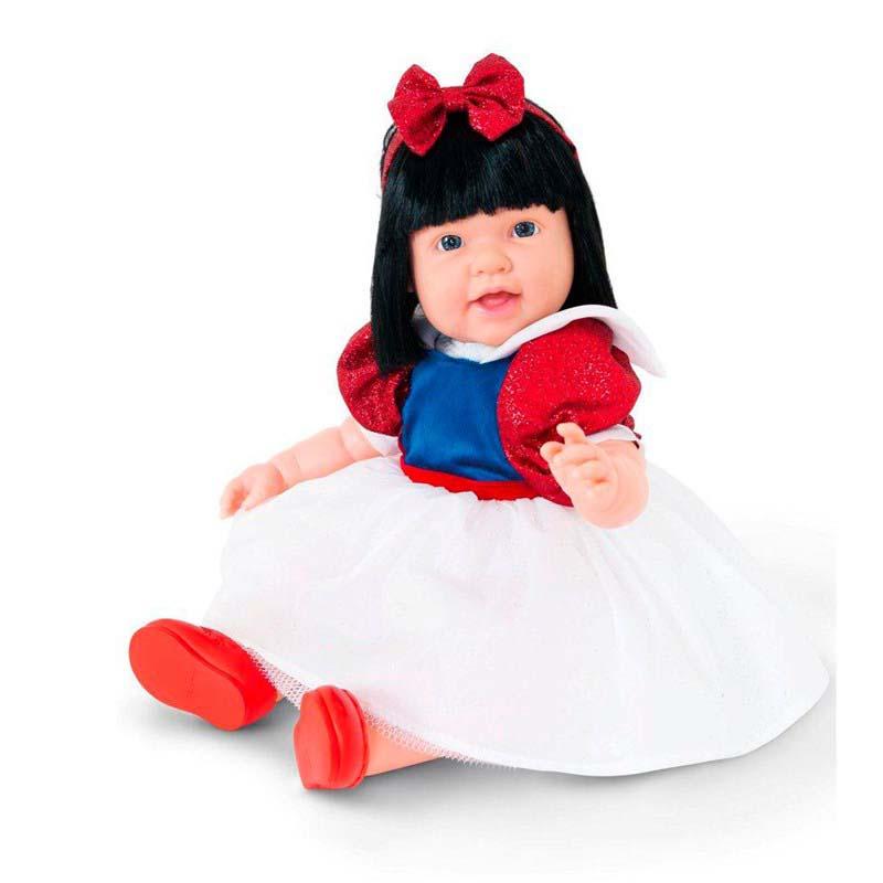Boneca Charmosa Princesa Morena com Articulação Cotiplas 2041  - FAMATECNOSHOP