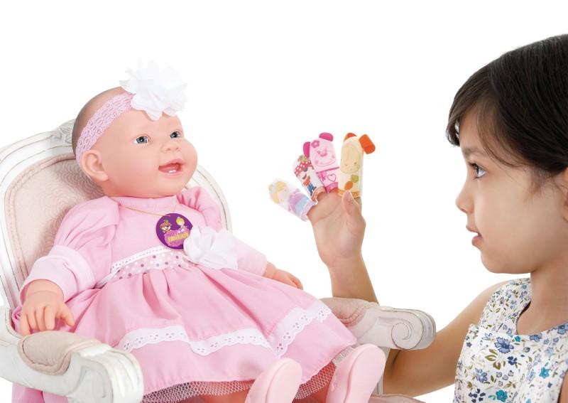 Boneca Meu Fantoche Encantado com Aplicativo Cotiplas - Ref 2027  - FAMATECNOSHOP