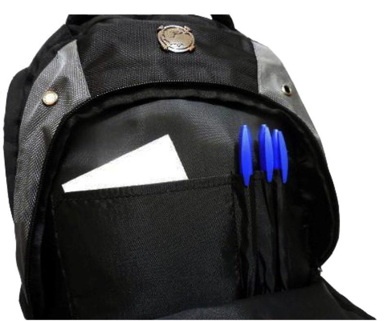 Mochila Esportiva p/ Notebook Luxcel Preta Mortal Kombat X - MJ48182MK  - FAMATECNOSHOP