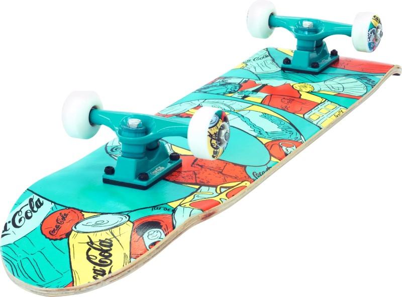 Skate Skateboard Coca-Cola Coke Shape 78x20 ABEC-5 - 145400  - FAMATECNOSHOP