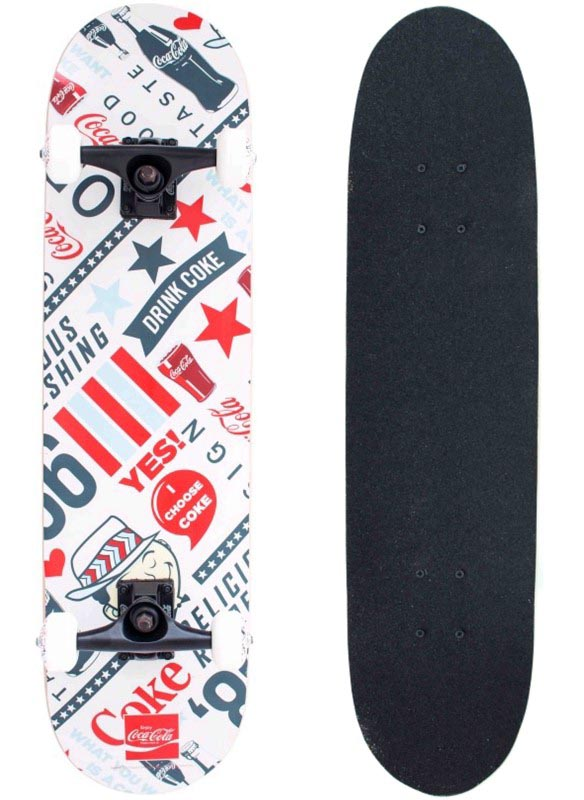 Skate Skateboard Coca-Cola Yes Shape 78x20 ABEC-5 - 144600  - FAMATECNOSHOP