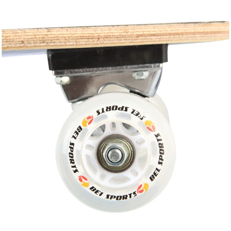 Skate Longboard Bel Sports Caveira 95 cm ABEC-5 - 465700  - FAMATECNOSHOP