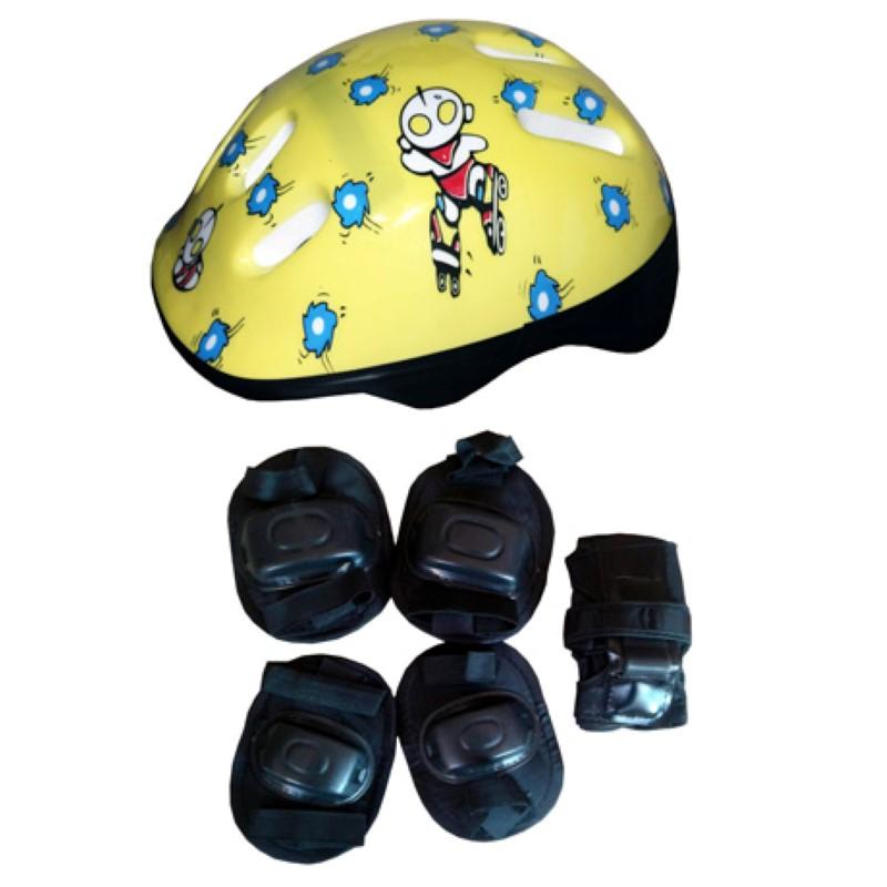 Skate Radical Iniciante Caveira com Kit de Proteção Completo Bel Sports - 411900  - FAMATECNOSHOP