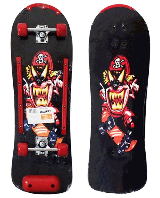 Skate Radical Iniciante Pirata com Kit de Proteção Completo Bel Sports - 411900  - FAMATECNOSHOP