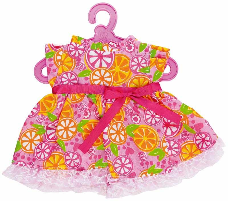Roupinhas Boneca Baby Alive - Vestido com Laranjas - Cotiplas 2104  - FAMATECNOSHOP