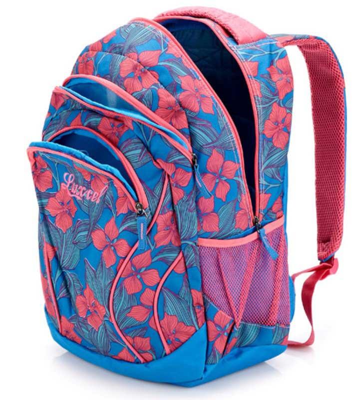 Mochila Esportiva Feminina Luxcel Floral - MS45252LX  - FAMATECNOSHOP