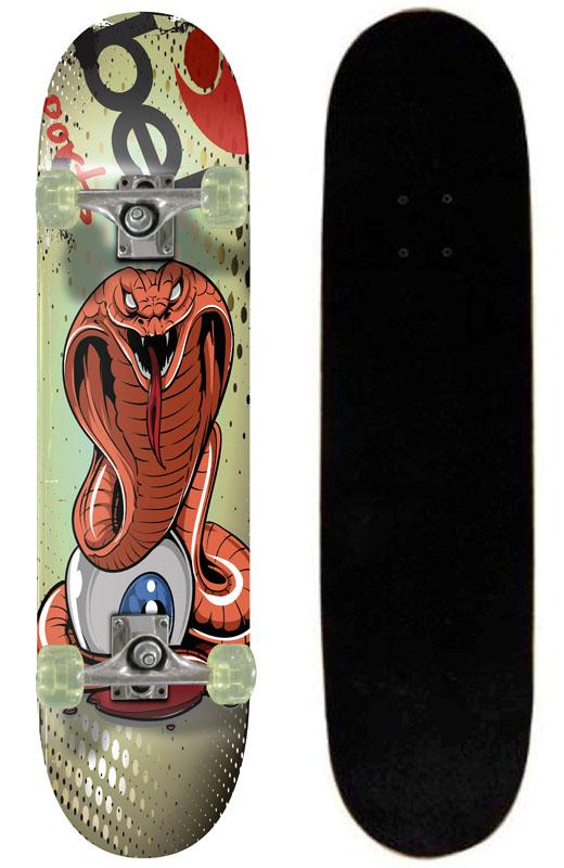 Skate Skateboard Bel Sports Cobra Semi-Profissional Shape 79 cm - 402000  - FAMATECNOSHOP