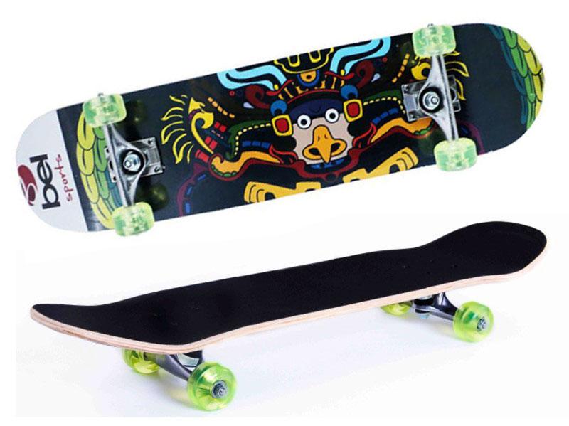 Skate Skateboard Bel Sports Gavião Semi-Profissional Shape 79 cm - 402000  - FAMATECNOSHOP