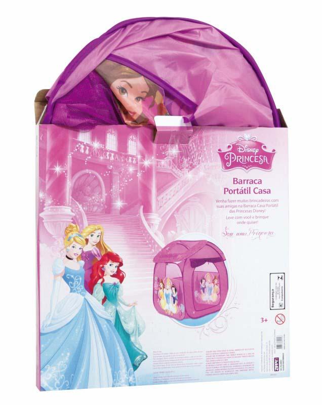Barraca Portátil Casa das Princesas Disney Zippy Toys  - FAMATECNOSHOP