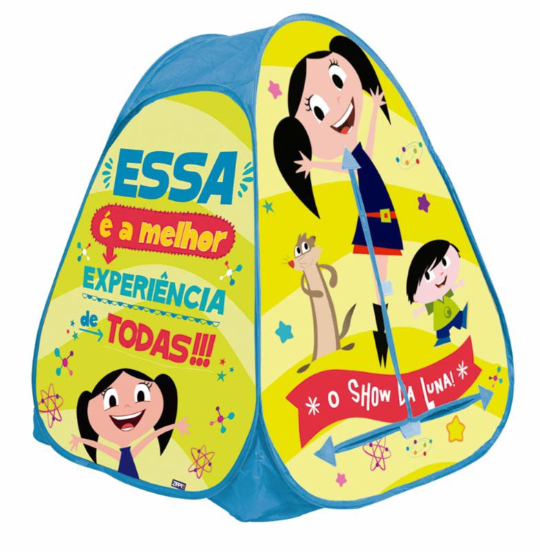 Barraca Portátil Toca Show da Luna Zippy Toys  - FAMATECNOSHOP