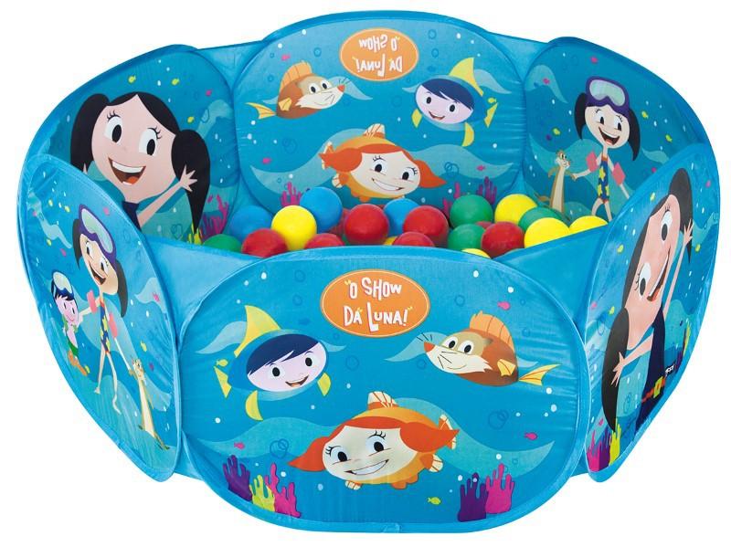 Piscina de Bolinhas Show da Luna com 100 Bolinhas Zippy Toys  - FAMATECNOSHOP