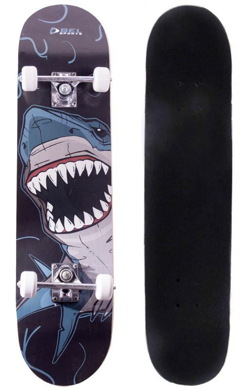 Skate Radical Iniciante Tubarão Skateboard Bel Sports - 401900  - FAMATECNOSHOP