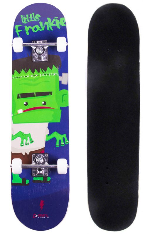 Skate Radical Iniciante Little Frankie Skateboard Bel Sports - 401900  - FAMATECNOSHOP