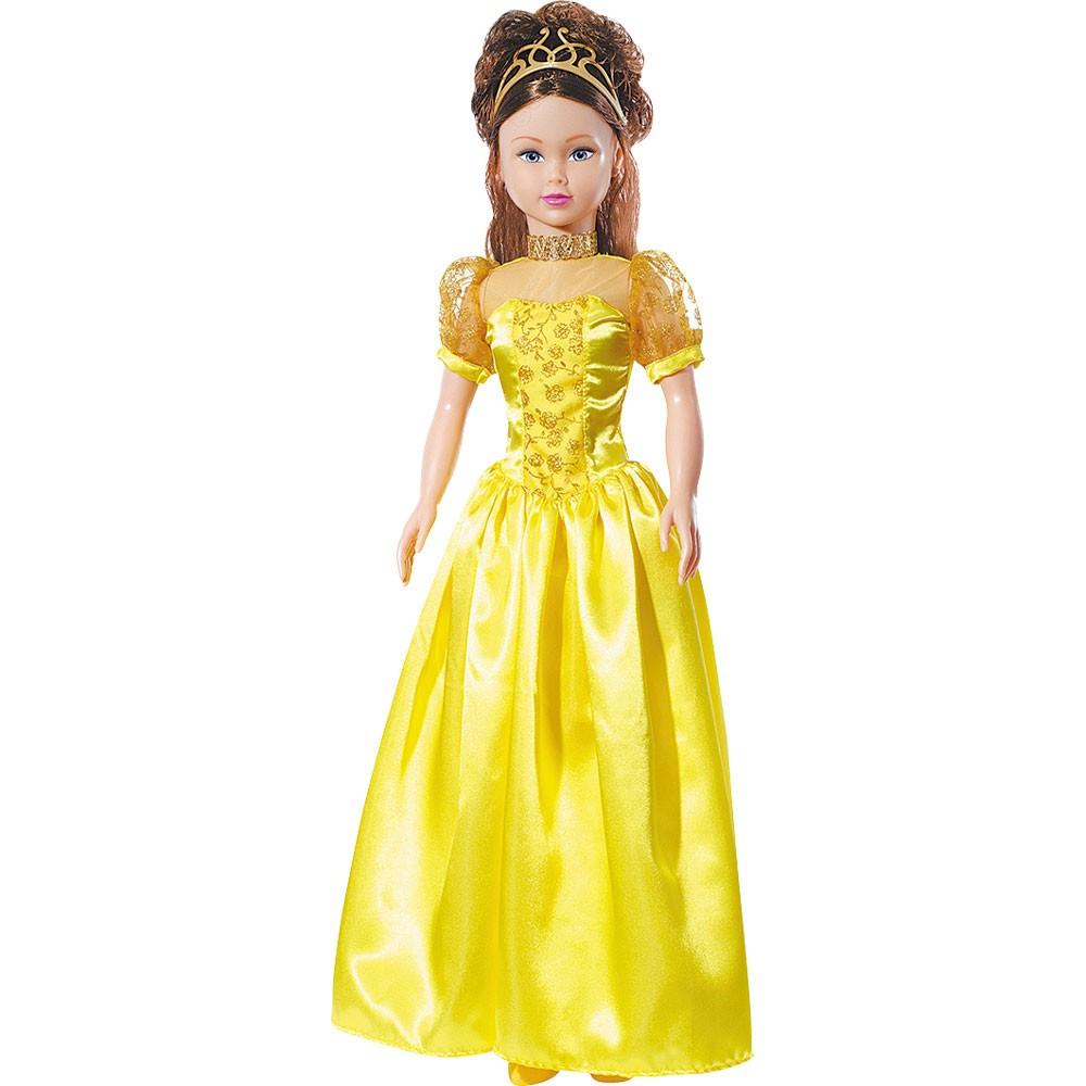 Boneca Stephany Sonhos de Princesas Bella 78cm Baby Brink - 1945  - FAMATECNOSHOP