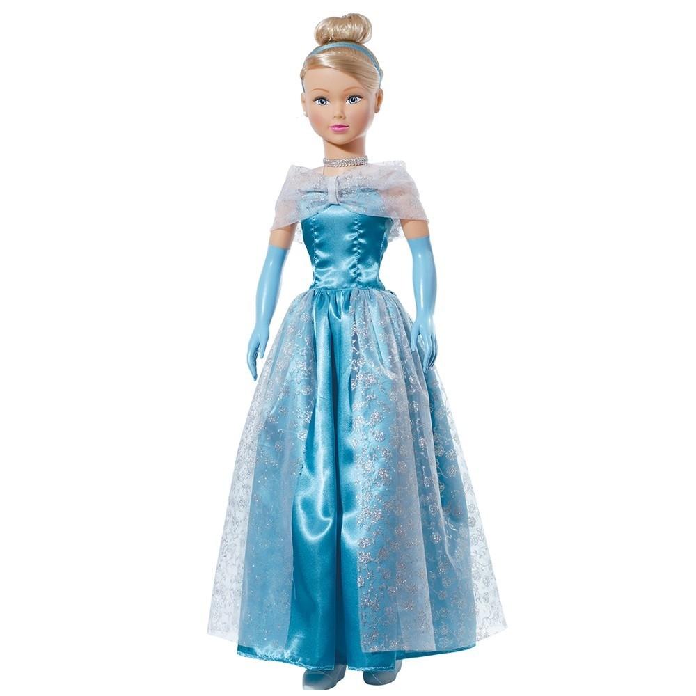 Boneca Stephany Sonhos de Princesas Cinderela 78cm Baby Brink - 1947  - FAMATECNOSHOP