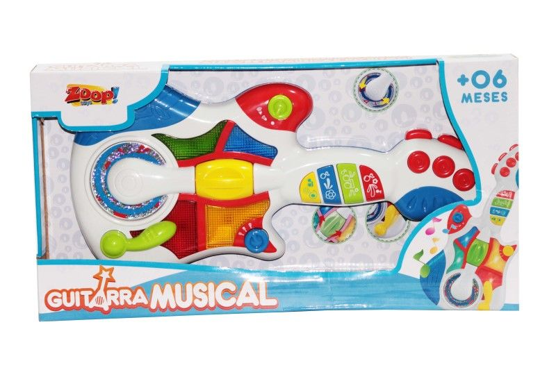 Guitarra Musical Zoop Toys - ZP00047  - FAMATECNOSHOP