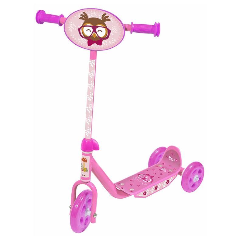 Patinete Infantil Groovy 3 Rodas Bel Brink - Rosa  - FAMATECNOSHOP