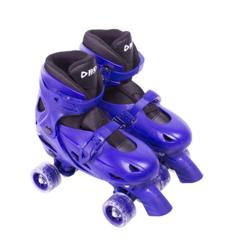Patins Clássico Ajustável Azul - Tamanho M (33 ao 36) - Bel Sports  - FAMATECNOSHOP