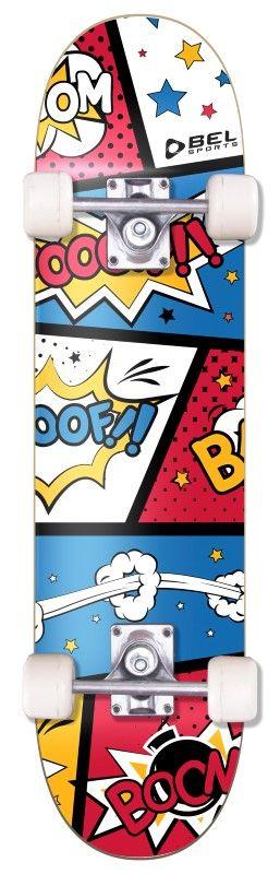 Skate Radical Iniciante Boom Skateboard Bel Sports - 401900  - FAMATECNOSHOP