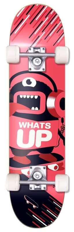 Skate Radical Iniciante Whats UP Skateboard Bel Sports - 401900  - FAMATECNOSHOP