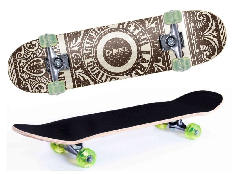 Skate Skateboard Bel Sports Carimbo Semi-Profissional Shape 79 cm - 402000  - FAMATECNOSHOP
