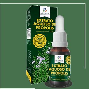 Extrato Aquoso de Própolis Verde 30ml 11% Ext. Seco