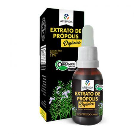 Extrato de Própolis Verde Orgânico 30ml 11% Ext. Seco