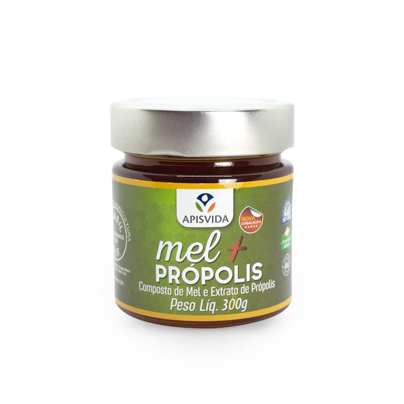 Mel Com Propolis Pote 300g