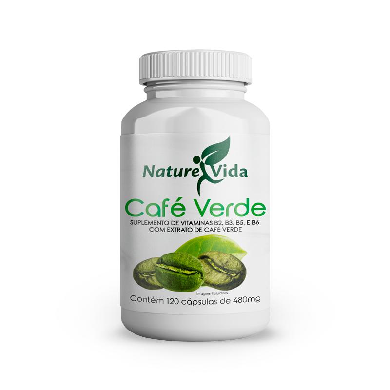 Naturevida Café Verde 480mg C/ 120 Caps