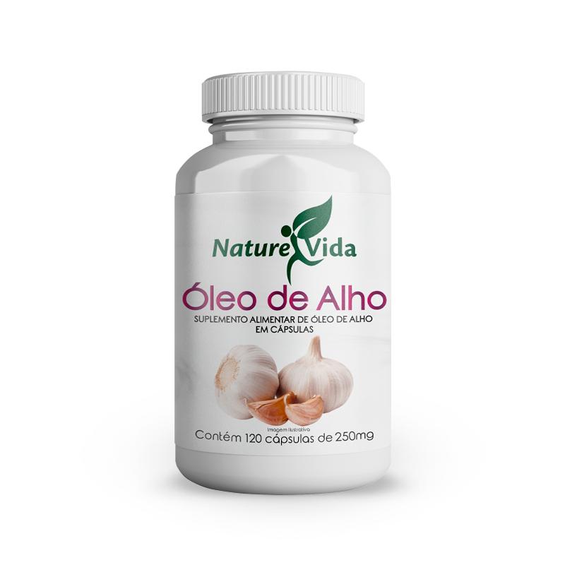 Naturevida Oleo de Alho 250mg C/ 120 Caps