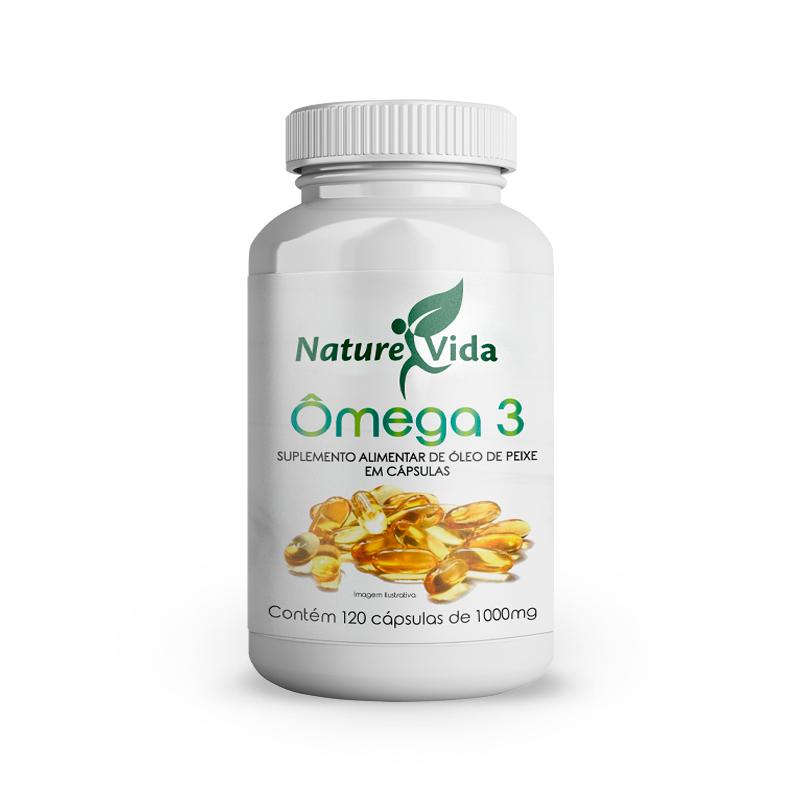 Naturevida Omega 3 1000mg C/ 120 Caps