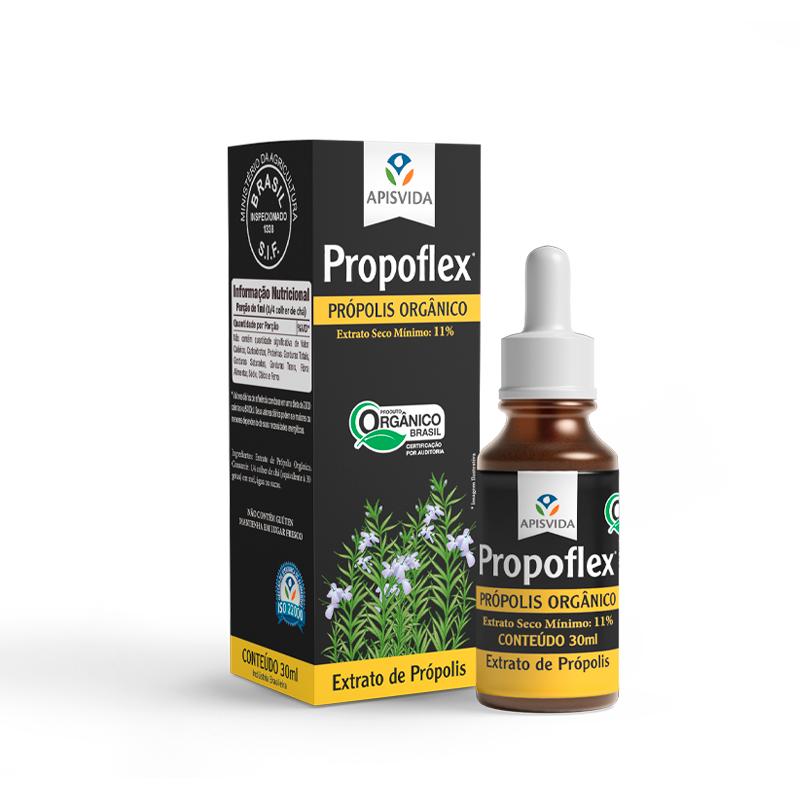 Propoflex Extrato de Propolis Orgânico 30ml Gotas