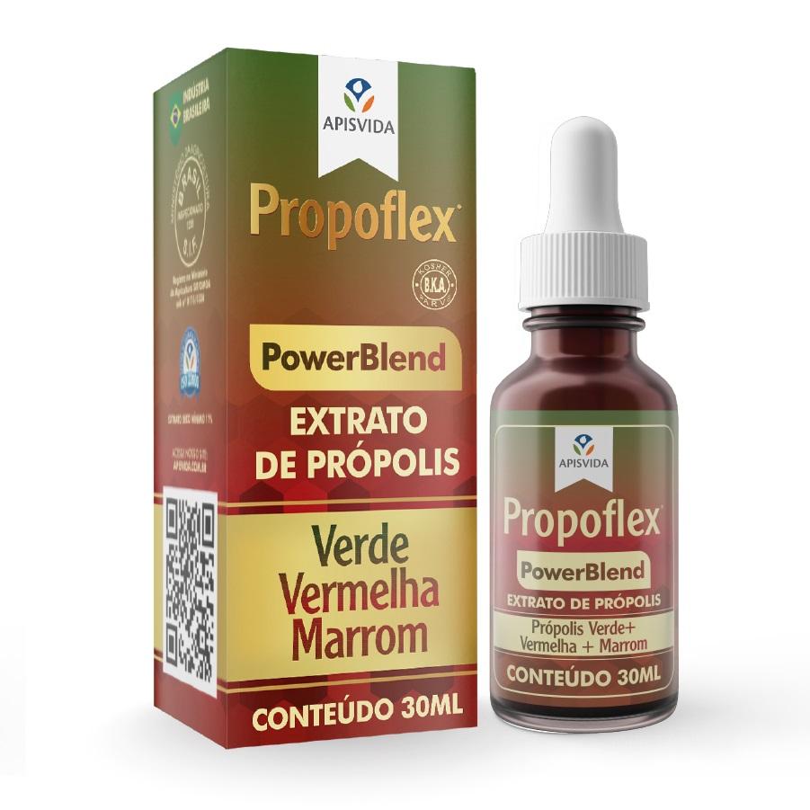Propoflex Extrato de Própolis Power Blend 11% 30ml Gotas