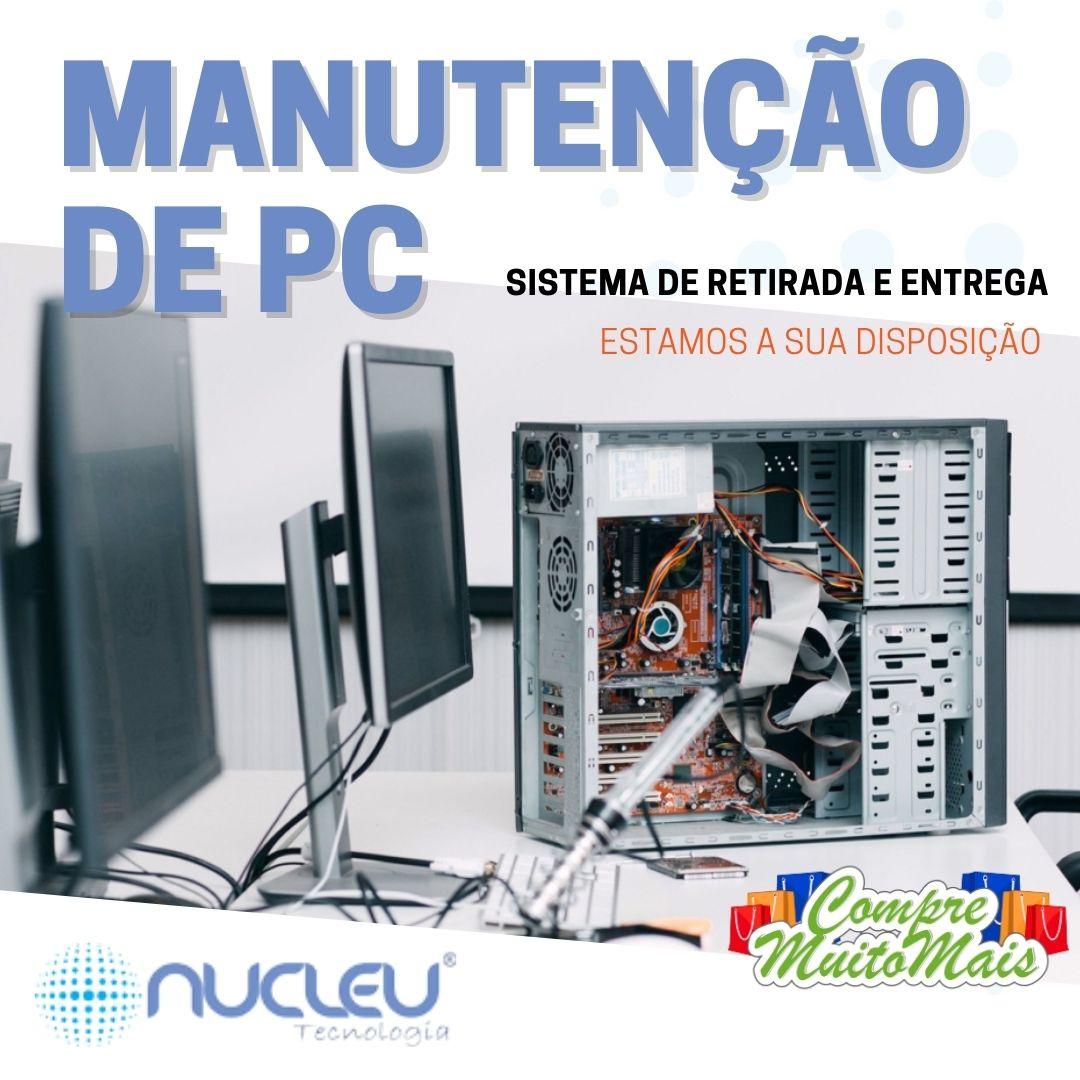 NOVO SERVIÇO MANUTENÇÃO DE PC