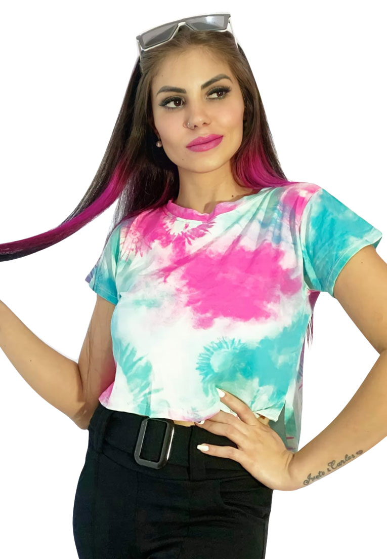 Blusinha tie dye color candy.  - Loomine