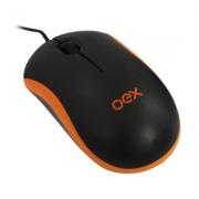 Mouse Óptico OEX - Laranja