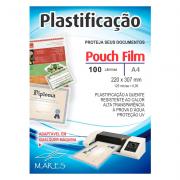 Pacote de Laminas para plastificação - A4 - 100 Folhas
