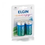 Pilhas Alcalinas C/2 Elgin - 2 Unidades