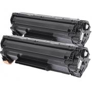 Toner Compatível HP CF 283 A - 2 Unidades