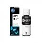 Garrafa de tinta HP DeskJet GT51/ GT53 Series Printers Preto