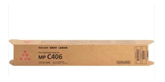 Toner Original Ricoh MP C 406 - Magenta