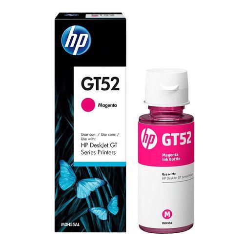 Garrafa de tinta HP DeskJet GT52 Series Printers Magenta