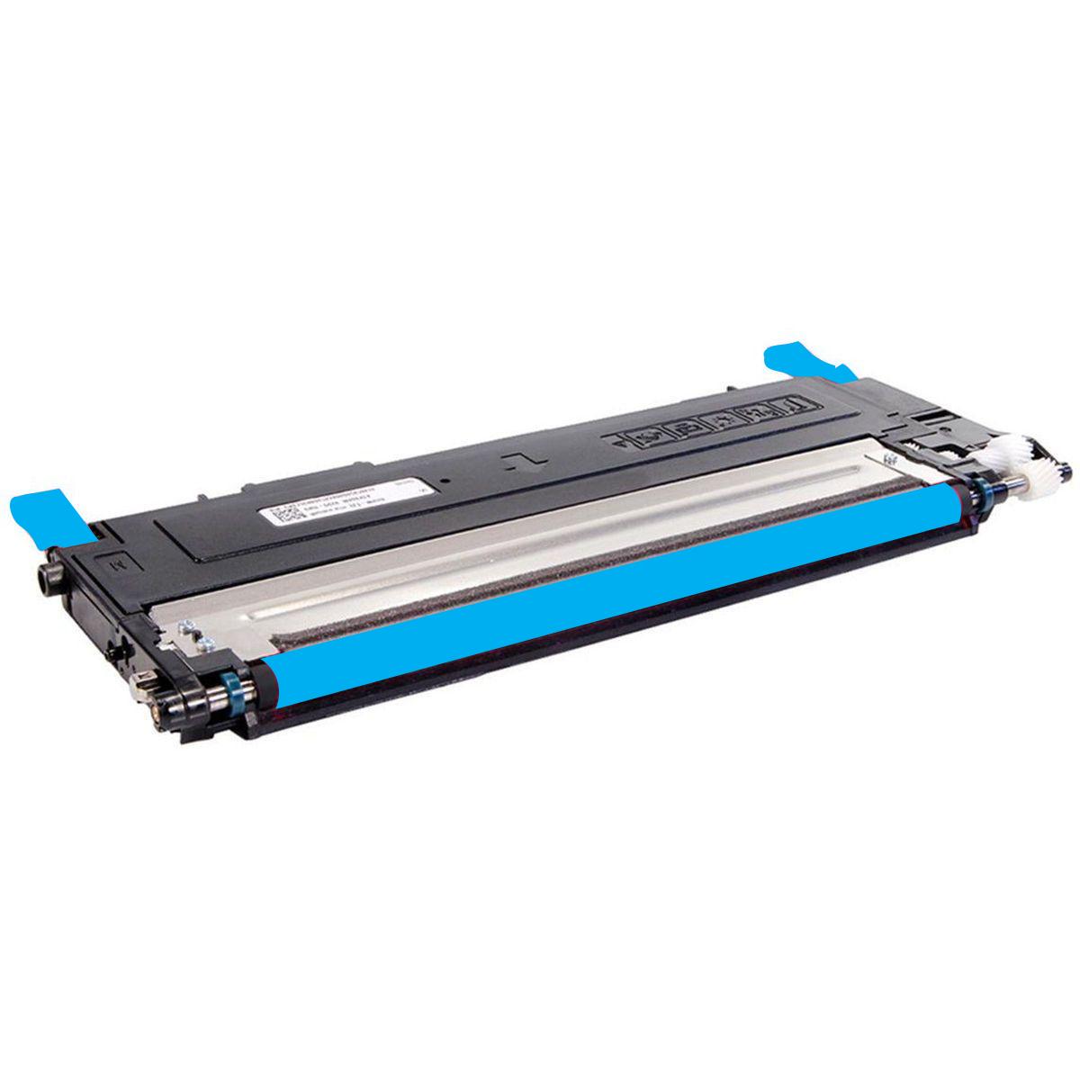 Toner Compatível HP BQ - CLT C 407 I C 409 - Ciano