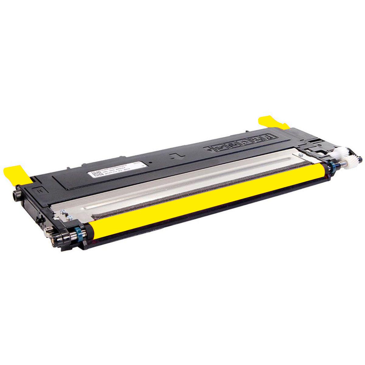 Toner Compatível HP BQ - CLT Y 407 I Y 409 - Yellow