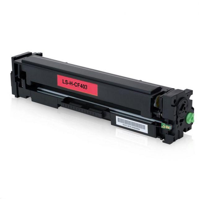 Toner Compatível HP CF 403A - Magenta